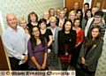 WE�RE on board: the Oldham Chronicle Dementia Friends with Debbie Abrahams, centre, and Sue Neilson, third left, back.