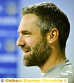AT THE HELM . . . David Dunn has been handed the Athletic managerial reins on a permanent basis.