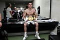 ANTHONY CROLLA CELEBRATES IN THE DRESSING ROOM
