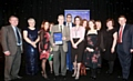 AWARD winners: Andrew Baldwin and staff from the oral and maxillofacial department receive the patients� choice award from chairman John Jesky, chief executive Dr Gillian Fairfield, Bill Turnbull and Karen Topping from G4S