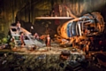 Regent's Park Theatre's impressive set for Lord of the Flies at The Lowry
