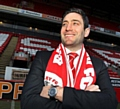 Lee Johnson at Oakwell after he was unveiled as Barnsley�s manager