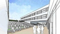 OFFICIAL plans artist�s impression shows how the new Saddleworth school will look