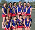 Oldham Netball Club under-12s