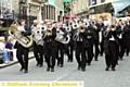 DIGGLE A band in action in Delph last year