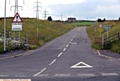 THIS access road to High Moor Quarry may soon be closed - leaving HGVs to negotiate tight bends past homes.