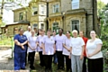 Staff at Coppice Care Home - our latest Prode in Oldham nominees