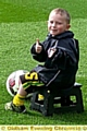 THUMBS up . . . from Chadderton Park�s Leon Hoey