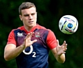 England's George Ford during a training session