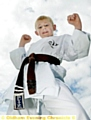 BRIGHT FUTURE: Richard Reygan is set to go far in the sport of karate.