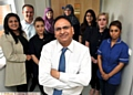 Pride in Oldham nominee Dr Hyder Abbas and his team at the Jarvis Medical Practice in Glodwick