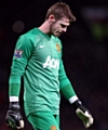 UNCERTAIN FUTURE . . . United goalkeeper David de Gea is reported to be �livid and distraught� at the late falling through of his move to Real Madrid.