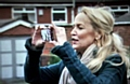 BACK to her roots . . . Jerry Hall in Derker, featured on the show last night Picture from BBC Television