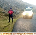 OMRT�s Richard Beswick on Chew Track, where the man was found