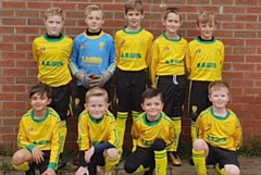 Chadderton Park's under-nines Phoenix team would like to thanks W J Lewis (Builders Merchants) Ltd for sponsoring their new kit