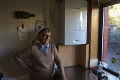 Anne Lord has benefited from the Warm Homes Oldham scheme