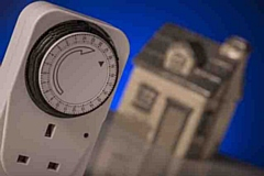 Light timers help to light up the home at key times during the darker nights