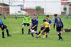 Action from Chadderton Park under-15s Lions' cup victory