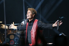 Music legend Cliff Richard.