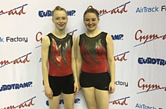 Hannah Bucys (left) became English Champion in the 15-16 age group. Ruth Shevelan won the silver medal in the Senior Women's category
