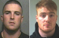 Anthony Gill (left) and his brother, Bradley Gill. 