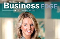 The latest Business Edge magazine features Ultimate Products' commercial director Jenny Stewart on the cover