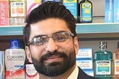 Pharmacist Aneet Kapoor, who is Chair of Greater Manchester Local Pharmaceutical Committee