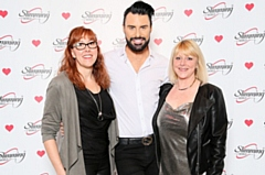 Slimming World Consultants Lisa Walker and Lorraine Crocker meet singer and presenter Rylan Clark-Neal