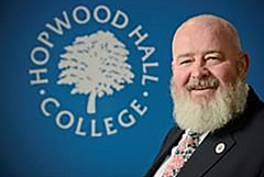 Hopwood Hall College Principal Derek O�Toole