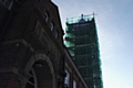 The Werneth Primary clock tower is being restored to its former glory