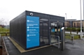 A new cycling hub has been set up at Hollinwood metrolink station