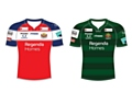 The new Oldham RLFC shirts for the 2018 season