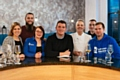MasterChef winner Simon Wood surprised a team of Bathroom Takeaway employees