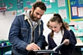 Juan Mata celebrated World Book Day at Royton Primary school