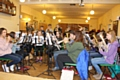 Players at the Dobcross Youth Band are preparing for a mammoth 24-hour rehearsal session
