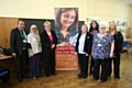 Council leader Jean Stretton (third from left) at the Ageing Well Oldham initiative