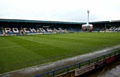 A fan has been arrested after running on to the pitch during Athletic's goalless draw at Rochdale's Crown Oil Arena