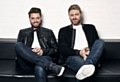 Brian McFadden (right) and Keith Duffy are Boyzlife