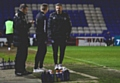 Athletic manager Richie Wellens reacts on the touchline during Tuesday's defeat by Southend.