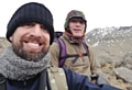 Paolo Bissolati and and fellow climber Ricky Richardson are gearing up for their trek up and down Kilimanjaro