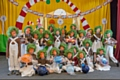 The children at Wild Things Drama's recent production of Charlie and the Chocolate Factory