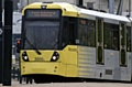 Metrolink services along the Rochdale via Oldham line were temporarily suspended last night