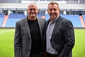 Andy Rhodes and Frankie Bunn pictured at Boundary Park today