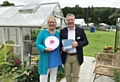 Pictured left to right: Sue Biggs, RHS Director General and Christopher White, Sales Manager at Hartley Botanic