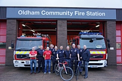 Oldham firefighters are geared up for their biggest challenge yet