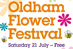 Oldham�s annual free Flower Festival is back on Saturday week