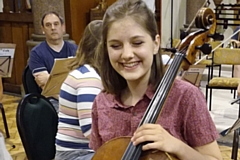Lili Holland-Fricke, Uppermill's Young Musician of the Year 2017