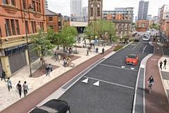 Chapel Street in Salford is set to benefit