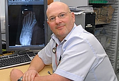 Dr Jimmy Stuart, Clinical Director for Urgent Care at North Manchester General Hospital