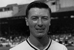 Former Athletic player and Burnley legend Jimmy McIlroy